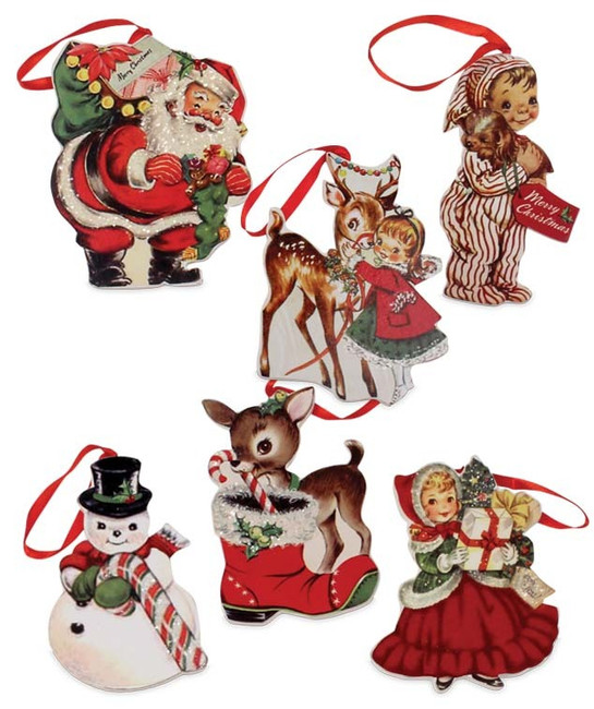 Bethany Lowe Retro-Inspired Christmas Ornament RL6847