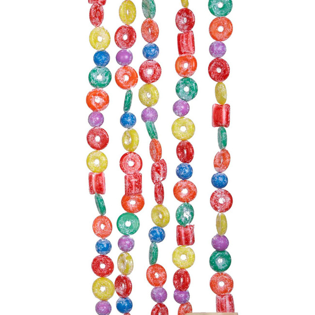 Kurt Adler 9' Life Saver Candy Christmas Garland H1737