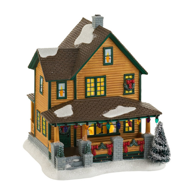 Department 56 A Christmas Story Village Ralphie's House 4029245