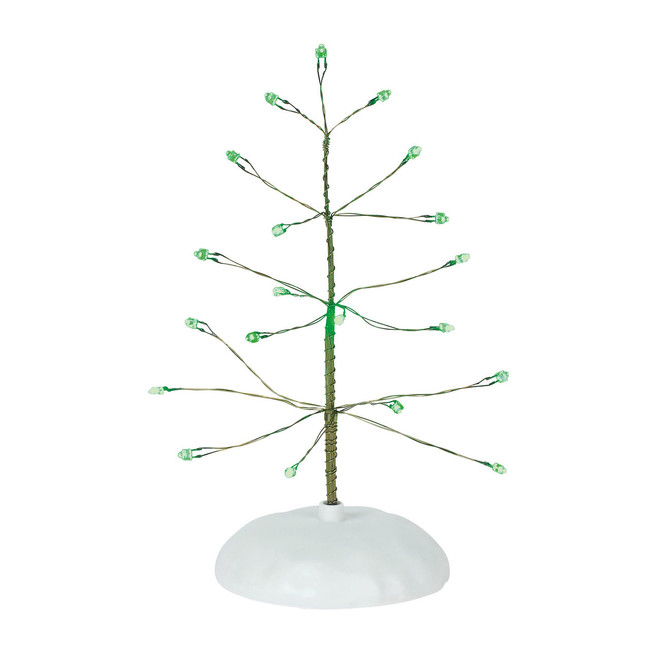Department 56 Village Accessory Green Twinkle Brite Tree 6001734