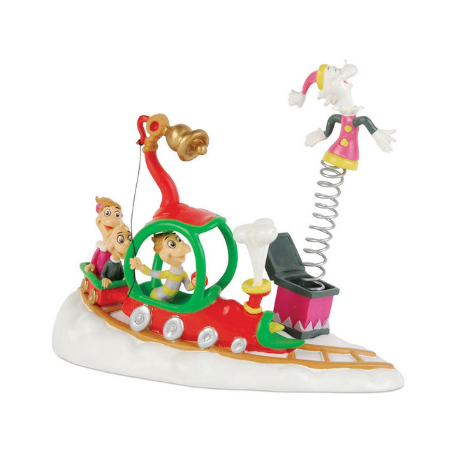 Department 56 Grinch Village Who's With Their Toys Figure 4020717
