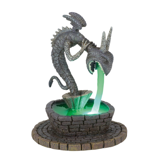 Department 56 The Nightmare Before Christmas Village Town Square Fountain Figure 6001202