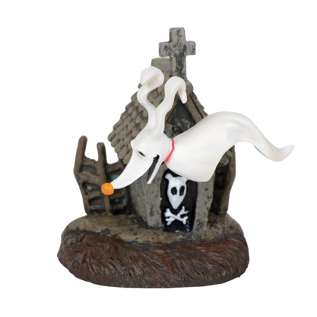 Department 56 The Nightmare Before Christmas Village Zero and His Dog House Figure 6001203
