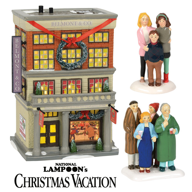 Department 56 National Lampoon's Christmas Vacation Village NEW for 2018 3 pc Set 6000634SET