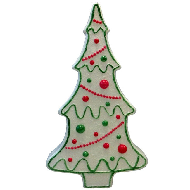 "28""  Gingerbread Cookie Christmas Tree Blow Mold Outdoor Christmas Decoration 77130"