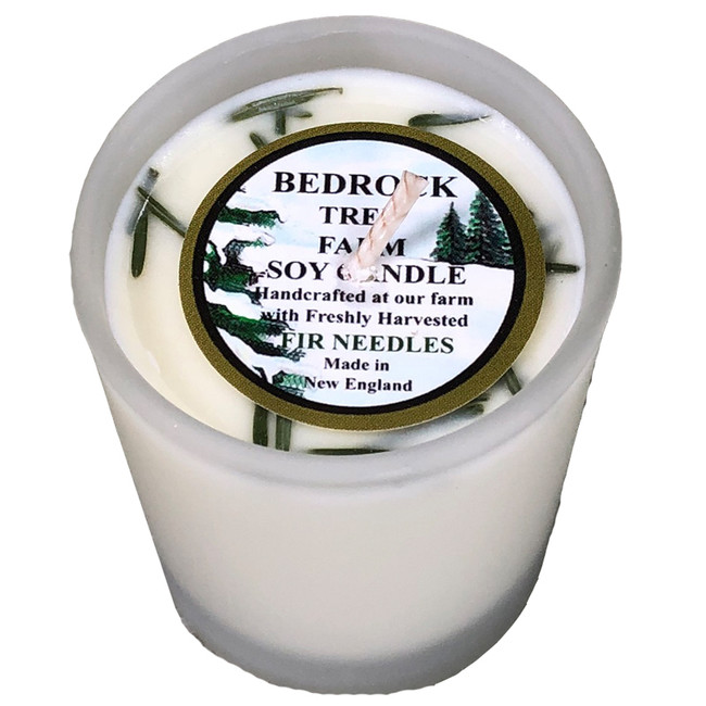 Bedrock Tree Farm Fir Needle Scented 2 oz Votive Soy Candles VHN