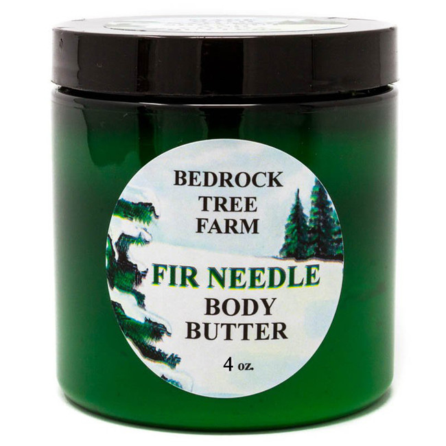 Bedrock Tree Farm 4 oz Fir Needle Body Butter CBB4