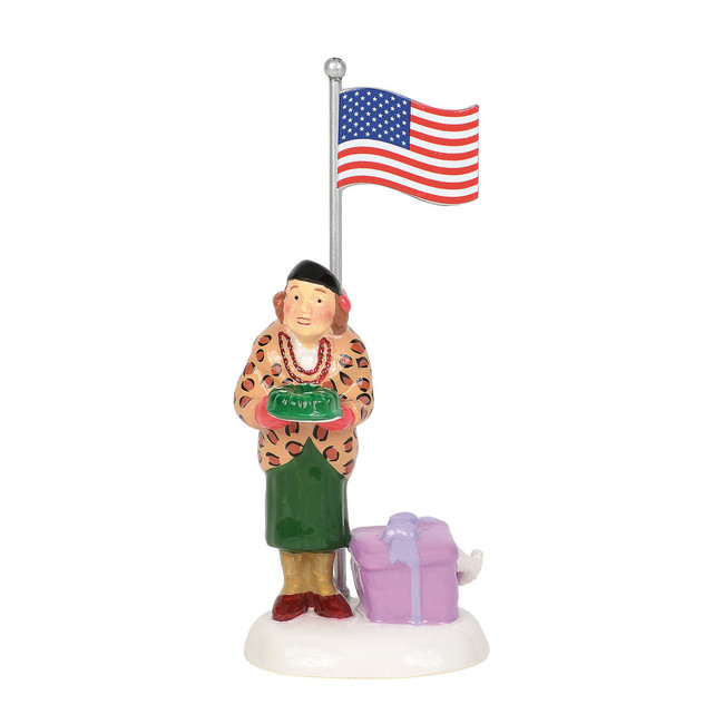Department 56 Christmas Vacation Play Ball! Aunt Bethany Figure 6003142