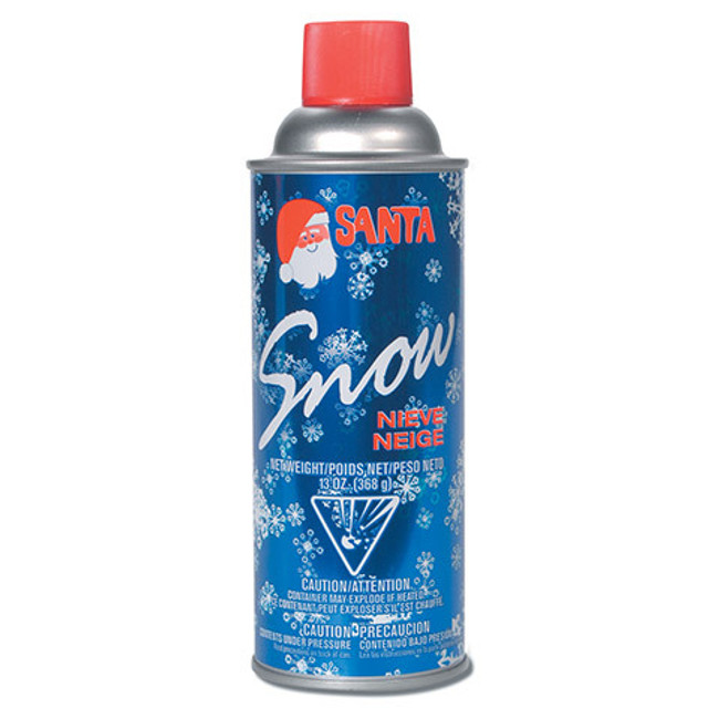 13 oz Can of Spray Snow Christmas Decoration CH499-0506