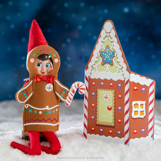 Elf On The Shelf Claus Couture Scout Elf Jolly Gingerbread Activity Set CCJOLLY2