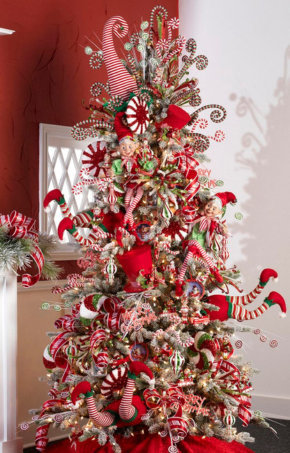 2015 Christmas Tree Themes