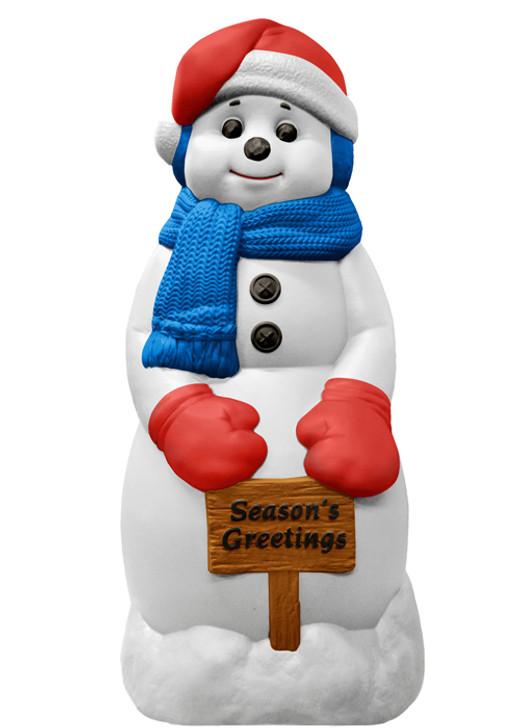 """31 """"Sæson hilsener Snowman Blow Mold Dekoration C5170"""