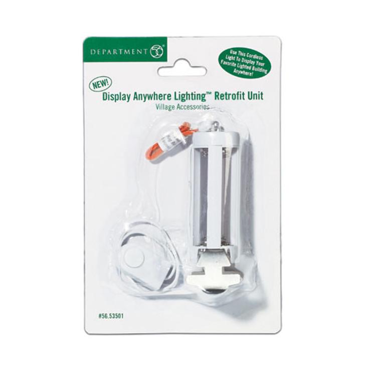 Dept 56 Display Anywhere Lighting Retrofit Unit 56.53501