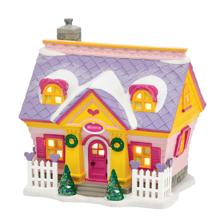 Dept 56 Disney Village Minnie's House 4038631