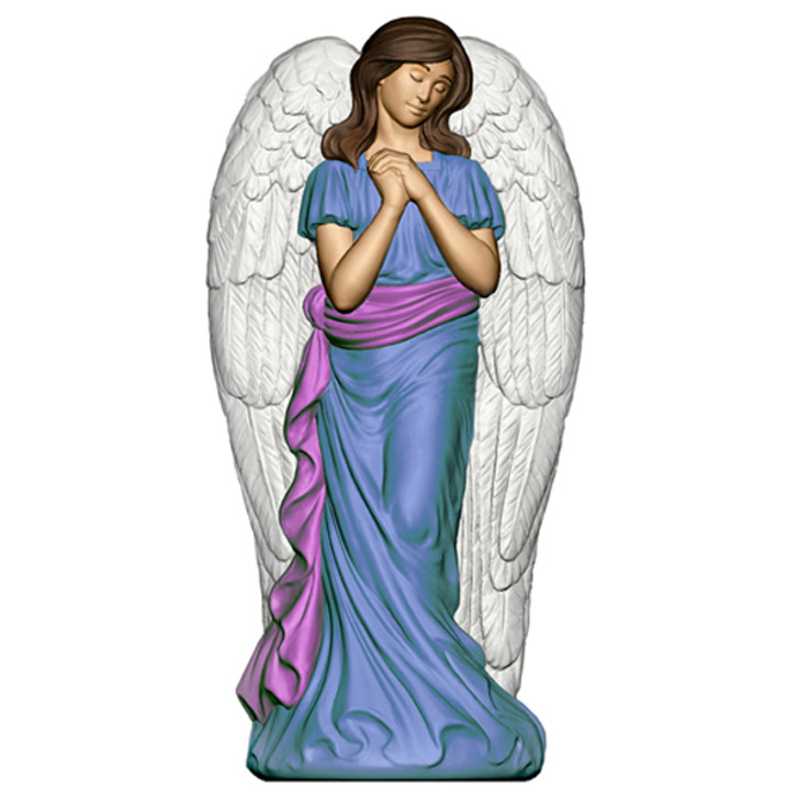 """31"""" Angel with Wings Christmas Blow Mold Decoration"""