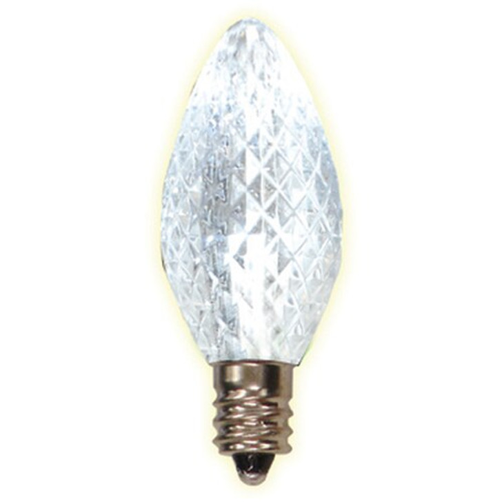 Brite Star 25 ct Pure White LED C7 Replacement Bulb 44-125-93
