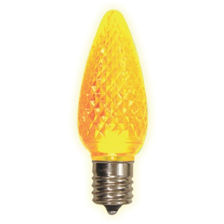 Brite Star 25 ct Yellow LED C9 Replacement Christmas Light Bulb 44-181-93