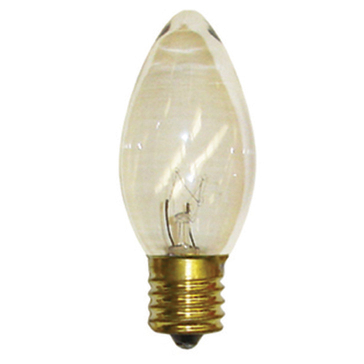 Brite Star 25 ct Clear C9 Replacement Christmas Light Bulbs 44-464-93