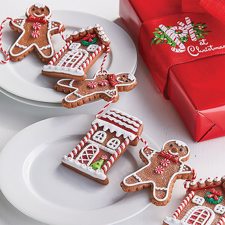 "Raz 30"" Gingerbread Cookie Christmas Garland G3816442"