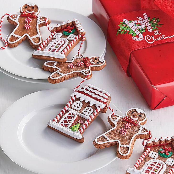 "Raz 30"" Gingerbread Cookie Christmas Garland G3816442"