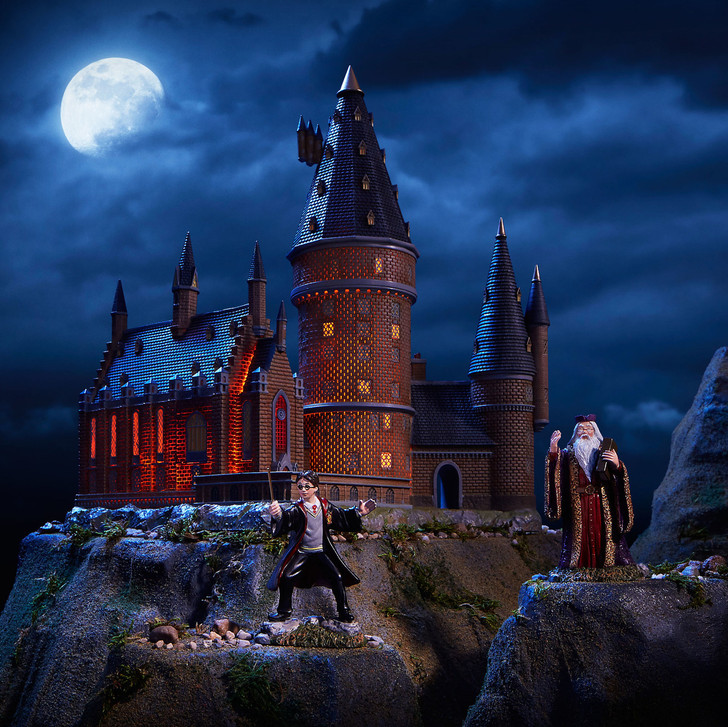 Department 56 Harry Potter Village Hogwarts Great Hall and Tower Building 6002311
