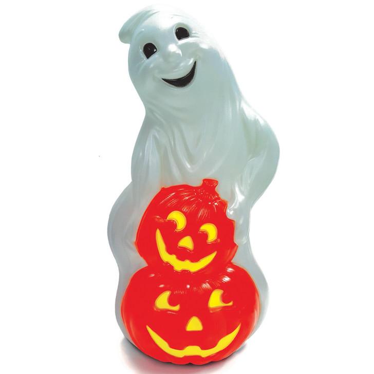 """31 """"spøgelse med græskar Halloween blæseform 56480"""