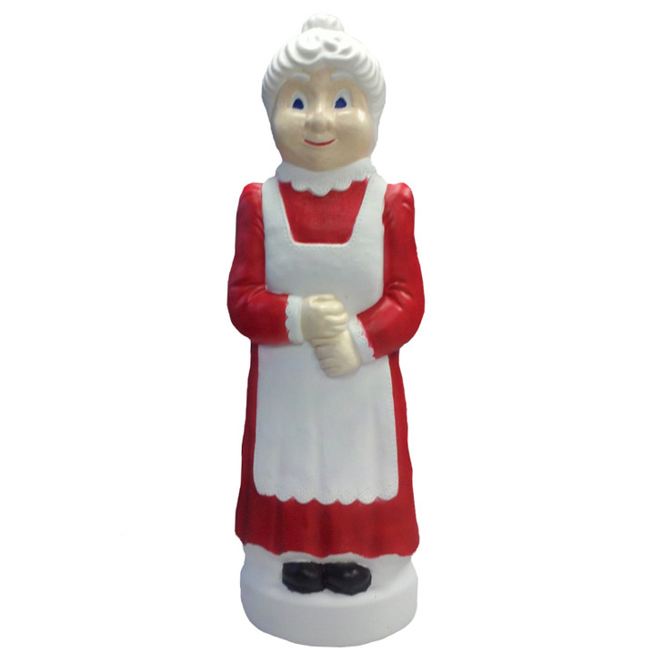"40"" Mrs. Claus Blow Mold Christmas Outdoor Decor 74180"