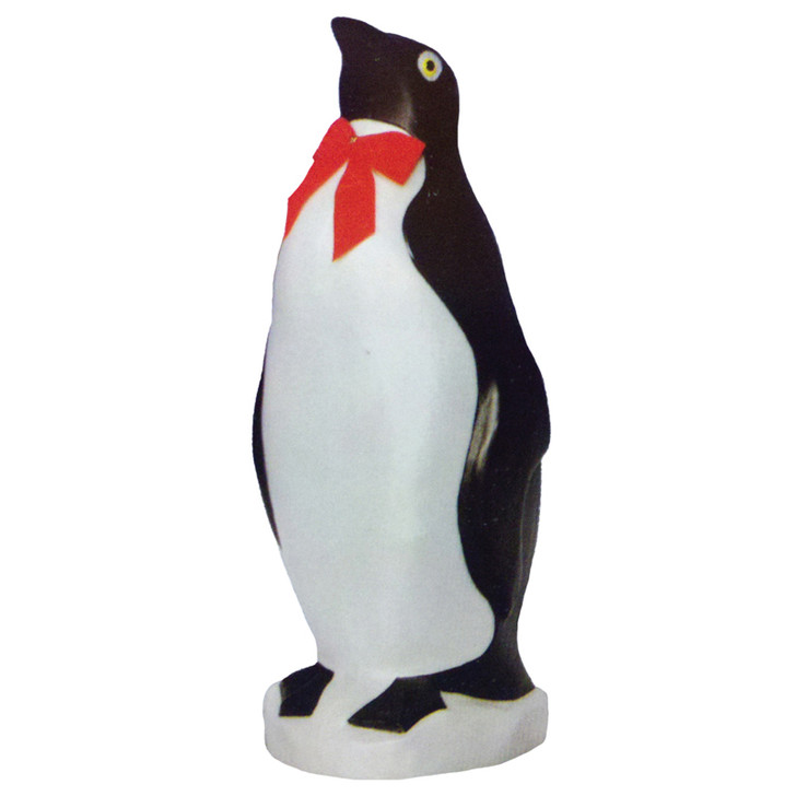 """22"""" Penguin with Bow Tie Blow Mold Outdoor Christmas Decor 76820"""