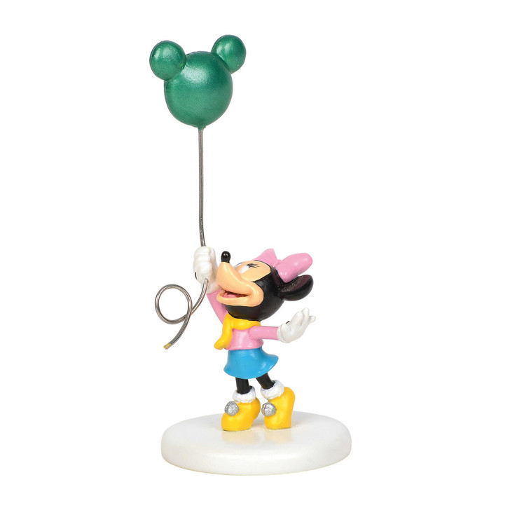 Department 56 Disney Christmas Village Mickey's Head In The Clouds Figure 6001191