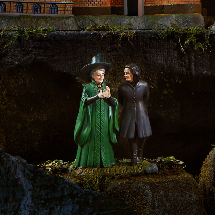 Department 56 Harry Potter Village Snape & McGonagall Figure 6003331
