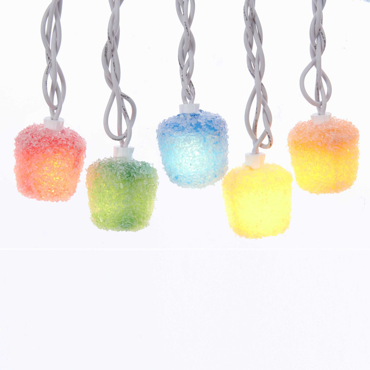 """30"""" LED Lighted 20 Count Mini Gummy Candy Christmas Lights JEL0312"""