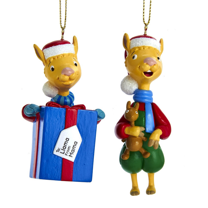 Llama Llama Red Pajama Christmas Ornament LM1191