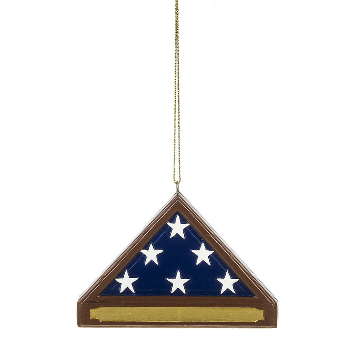 "3,5 ""Fallen Soldier Memorial Christmas Ornament 162299"