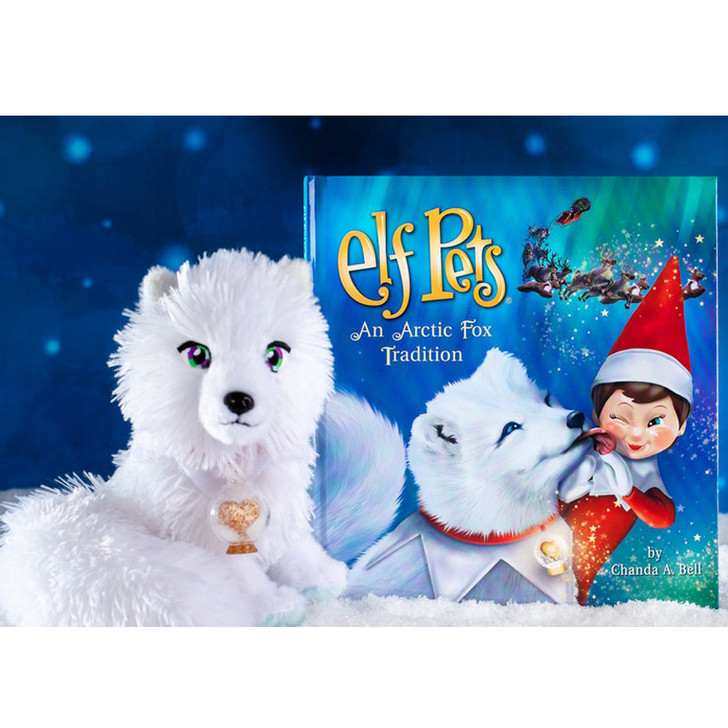 The Elf On The Shelf Elf Pets Tradition: Arctic Fox EPFOX