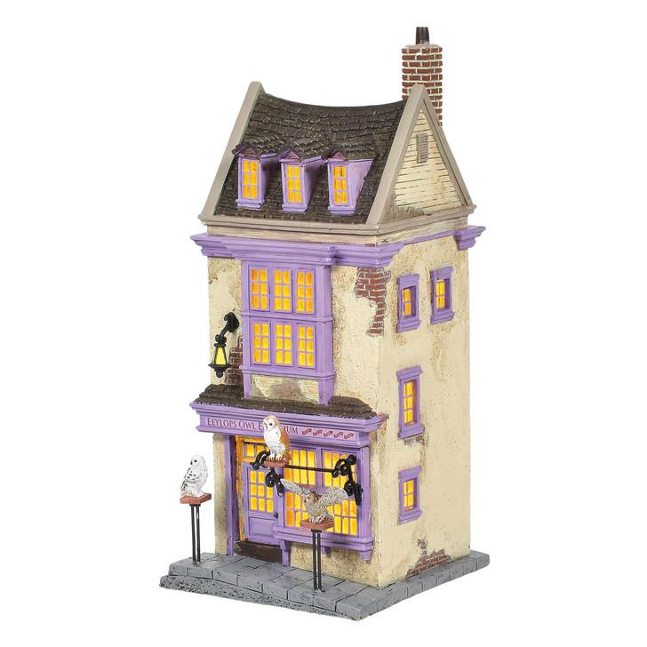 Department 56 Harry Potter Village Eeylops Owl Emporium Building 6005614