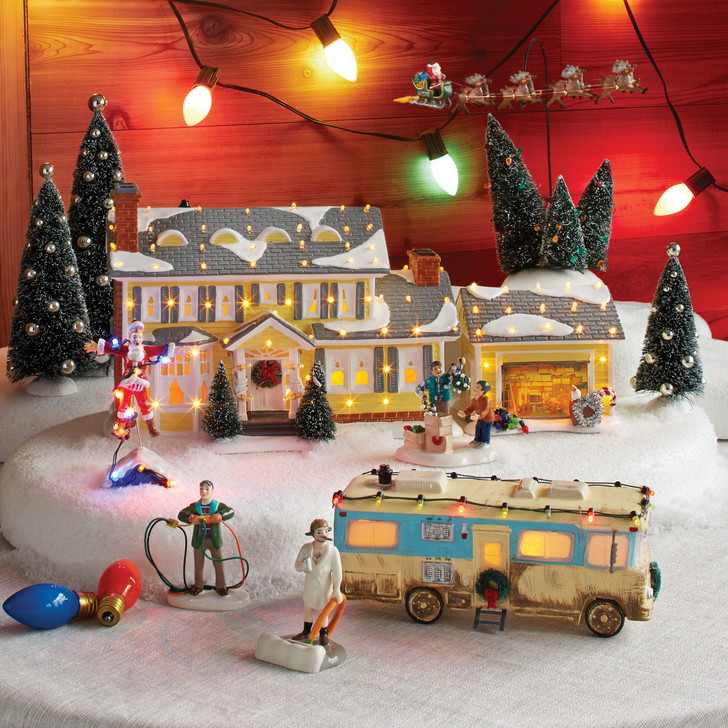 Department 56 Christmas Vacation 7 Piece Set