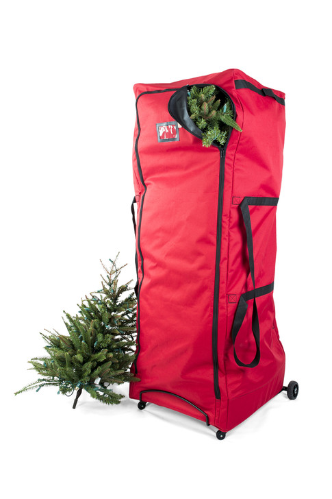Julemands tasker Ekstra stor opretstående juletræ opbevaring Duffel taske 10491