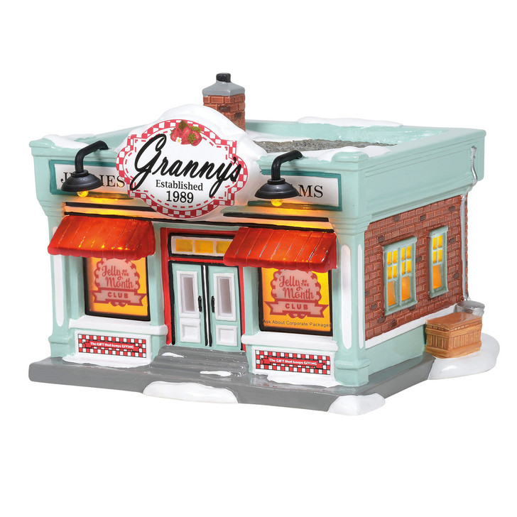 Department 56 Snow Village Jelly Of The Month Club Building 6005452