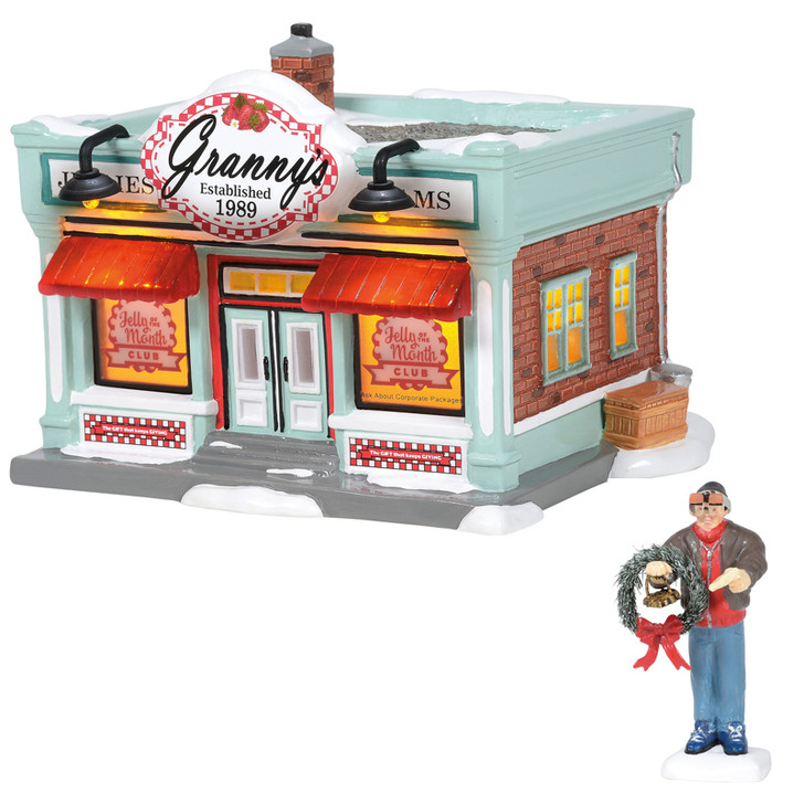 Department 56 National Lampoon's Christmas Vacation Merry Christmas Jelly Of The Month Set