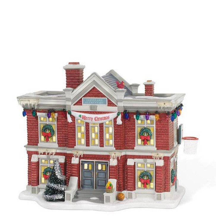 Department 56 A Christmas Story Village Cleveland Elementary School 805029