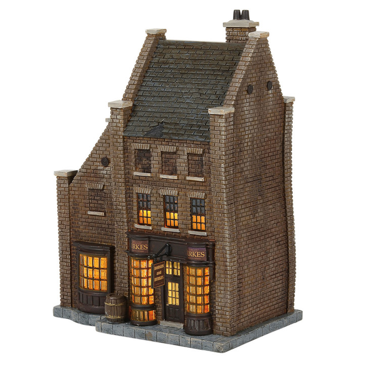 Department 56 Harry Potter Village Borgin and Burkes Building 6006510