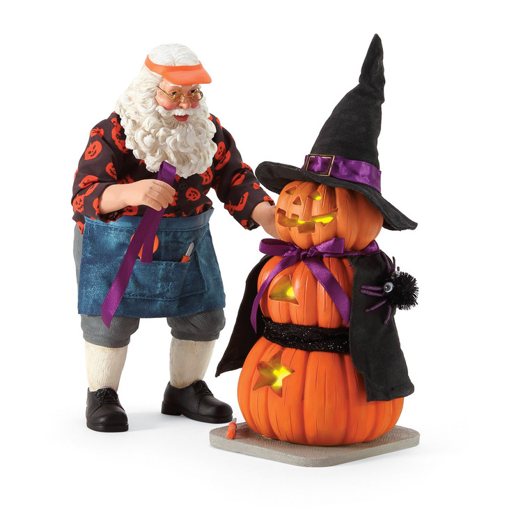 Department 56 Possible Dreams Pumpkin Witch Lighted Halloween Figure 6006452