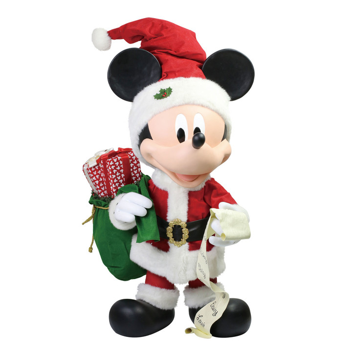 """Department 56 Possible Dreams 31"""" Large Merry Mickey Figure 6006478"""