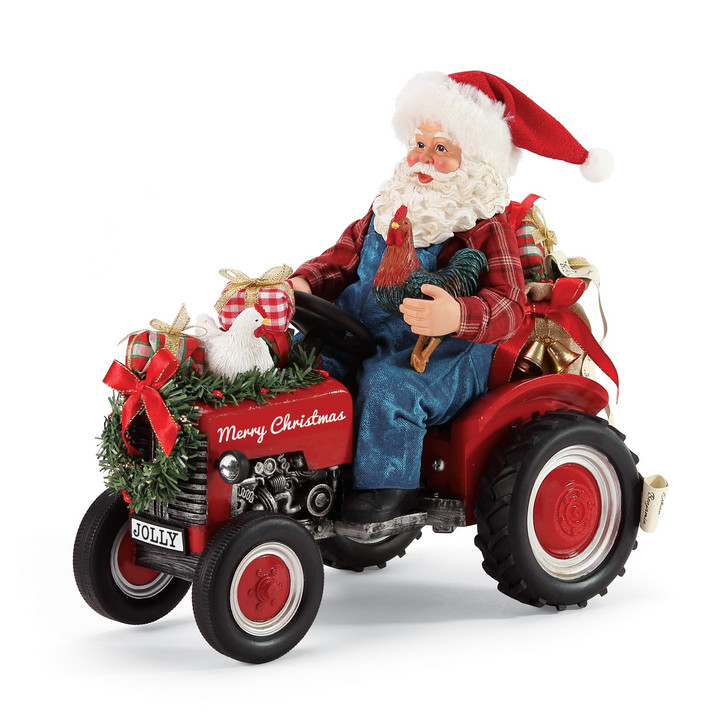 Department 56 Possible Dreams Santa Country Living Figure 6006028
