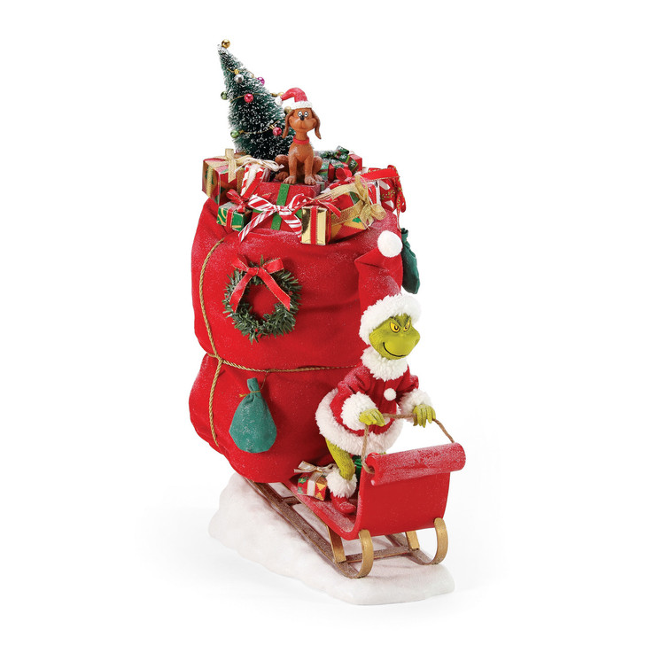Department 56 Possible Dreams Grinch A Very Merry Grinchmas Christmas Figure 6006035