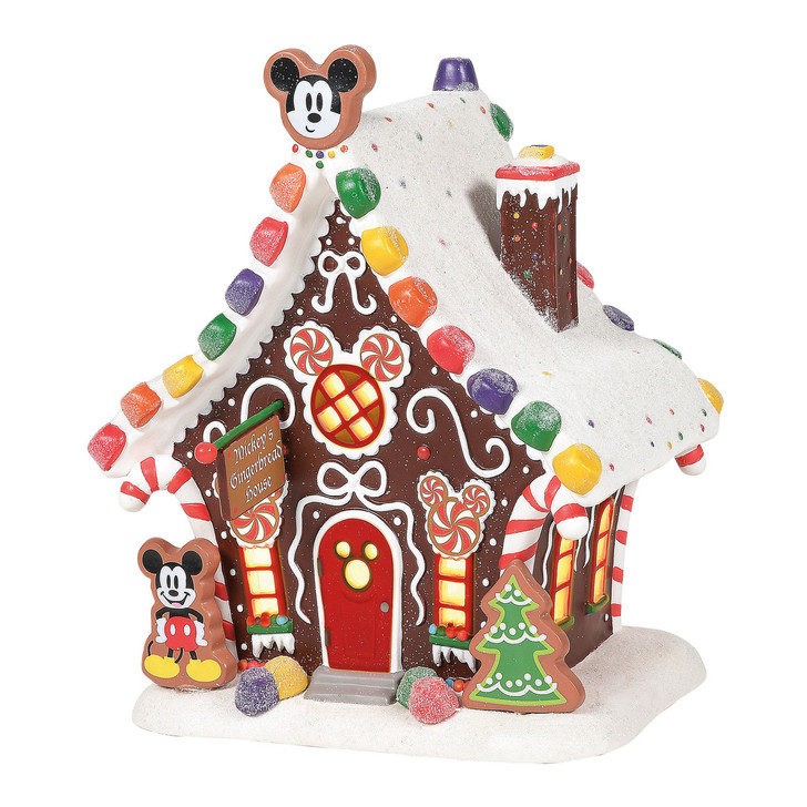 Department 56 Disney Village Mickey's Gingerbread House Building 6001317