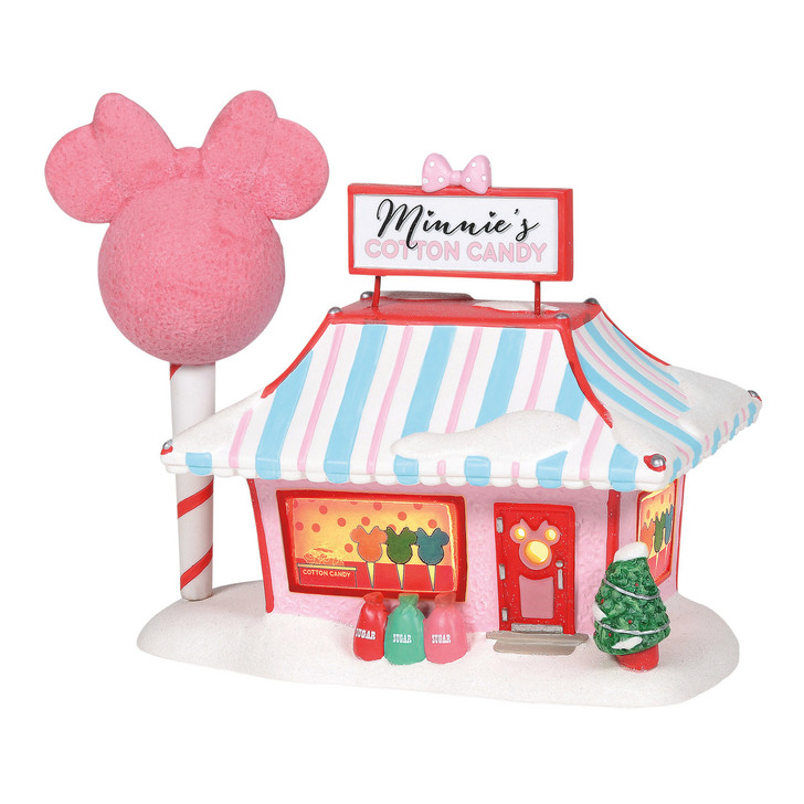Department 56 Disney Village Minnie's Cotton Candy Shop Building 6001318