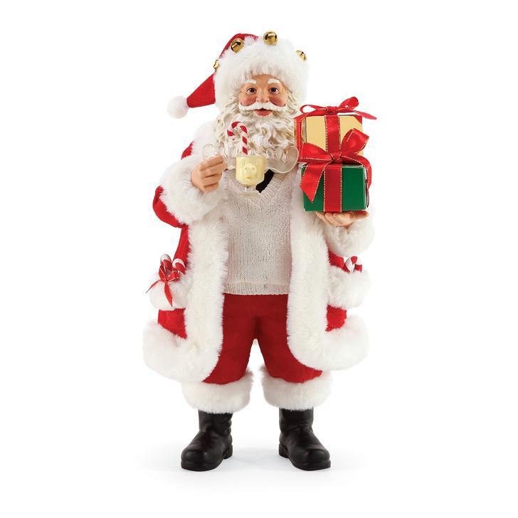 Department 56 Possible Dreams Santa's Moose Mug Figure 6005266