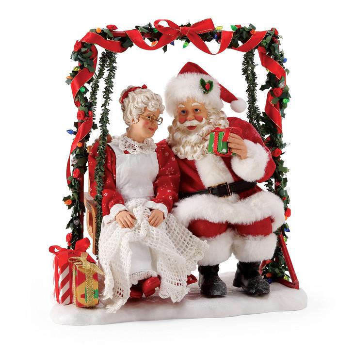 Afdeling 56 Mulige drømme Santa Garden Retreat Figur 6005290