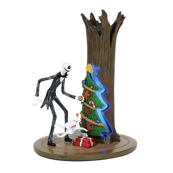 Department 56 The Nightmare Before Christmas Jack Discovers Christmas Town Figure 6005595